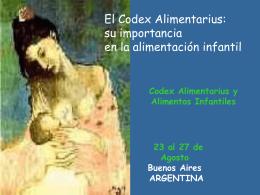 Importancia del Codex en la Alimentación Infantil - ibfan-alc