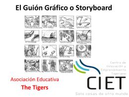 3.- El Guión Gráfico o Storyboard