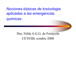 Sustancia química - Ministerio de Salud