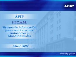 Sicam - Actualidad Impositiva
