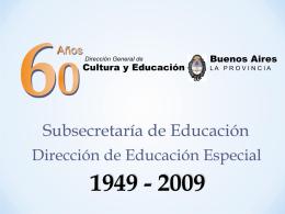 El transito de Educación Especial en la