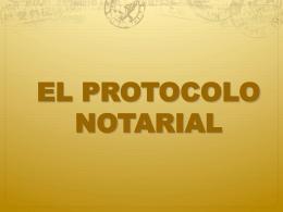 testimonios especiales de protocolizaciones