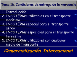 INCOTERMs - Lomag