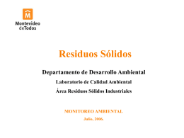 Descarga - GAM - Grupo Ambiental de Montevideo
