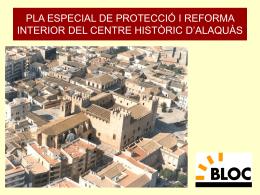 Plà de protecció del centre històric d`Alaquàs