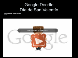 Google Doodle Día de San Valentín
