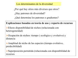 Archivo ppt - Departamento de Ecología, Genetica y Evolución