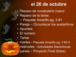 Slide 1 - spanish1sphs