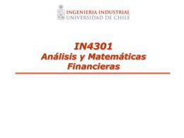 Análisis Financiero - U