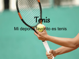 El Gol de Tenis - WLWV Staff Blogs