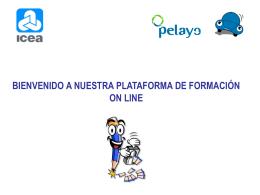 """bienvenido al curso on line """"programa formación acceso"""