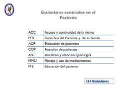 Evaluación de Pacientes