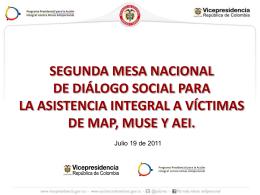 Presentación Ana María Díaz, Coordinadora Componente de