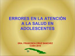 Errores en la Atención - F.Cruz_