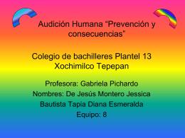 """Audición Humana """"Prevención y consecuencias"""""""