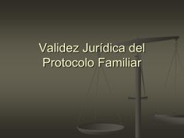 VALIDEZ DE LOS PACTOS DEL PROT FAMILIAR 24-10