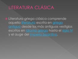 LITERATURA CLASICA (4318208)