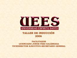 Presentación de PowerPoint - Universidad de Especialidades del