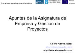 Control de Proyectos y Gestión Empresarial