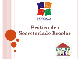 Documentos Escolares