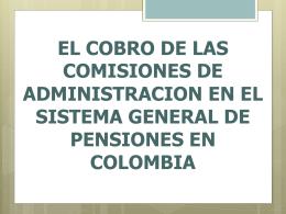 DEMANDA A FONDOS DE PENSIONES MARCO JURÍDICO