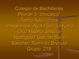 """Colegio de Bachilleres Plantel 3 """"Iztacalco"""" Tema"""