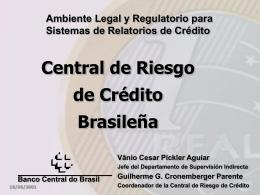Nova Central de Risco de Crédito