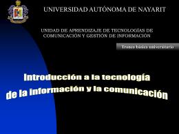 ¿Qué son las tecnologías de la comunicación e información?