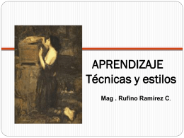 APRENDIZAJE - Educación, Arte, y Turismo