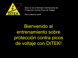 Ditek Presentacion en Espanol