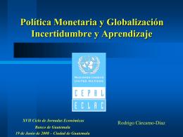 Presentación - Banco de Guatemala
