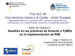 Diapositiva 1 - Forum Empresa
