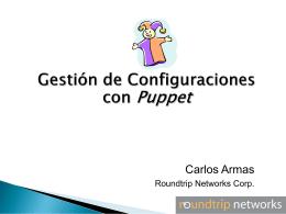 Gestión de Configuraciones con Puppet