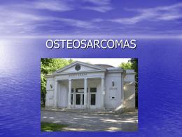 OSTEOSARCOMAS