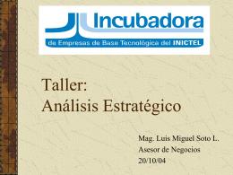 Taller: Análisis Estratégico
