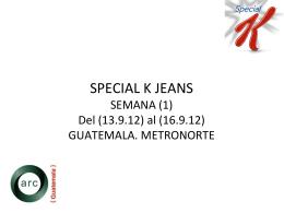 ver informe Special K Metro Norte