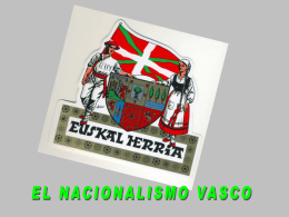 Nacionalismo vasco