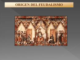 Origen del feudalismo