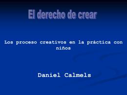 derecho de crear