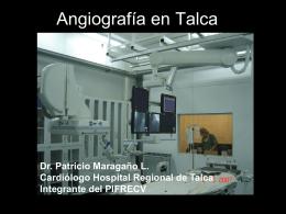 Angiografía en Talca Dr. Patricio Maragaño