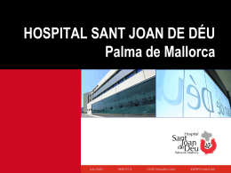 Presentacion Hospital San Juan de Dios Palma
