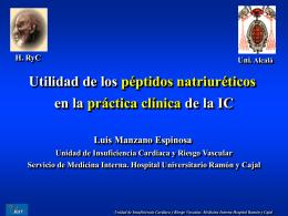 Aplicaciones clínicas del BNP