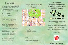 Jornada médico-informativa - Servicio de Información sobre