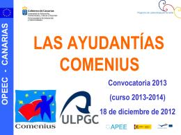 Ayudantes Comenius