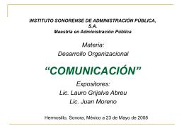 Comunicación - Paginas Prodigy