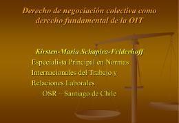 Convenio sobre el derecho de sindicación y de negociación