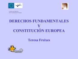 Derechos fundamentales y constitución europea