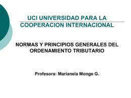 Contenido del Derecho Tributario. Presentación No. 1