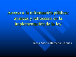 derecho humano - Unidad de Acceso a la Información Pública