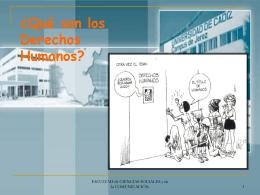 Descargar presentación sobre Derechos Humanos